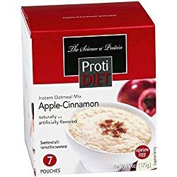 Protidiet Oatmeal – Apple Cinnamon (7 – 6.2 oz pouches per box)