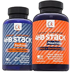 Kirkland Science Labs | Premium PAGG Stack | Boost Metabolism and Build Muscle | Top Quality Electrolytes, Green Tea and Aged Garlic Extract | For The Slow Carb Diet | No Risk Guarantee