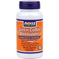 Now Foods Green Coffee Diet Support – 90 Veg Capsules 3 Pack