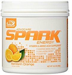 AdvoCare Mandarin Orange Spark Canister 10.5 Ounce – New