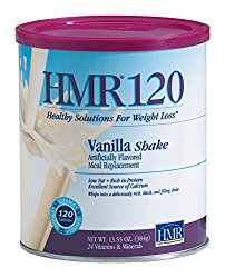 HMR 120 Vanilla Shake, Canister of 12 servings, (Packaging Design May Vary)