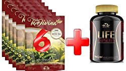 life capsules and popular Te-divina 6 packs supply deal $109.99 ,Tedivina detox tea Natural Weight Loss Detox Tea, Reduce Bloating, Promote Fat Loss, Control Appetite & Detoxify Body