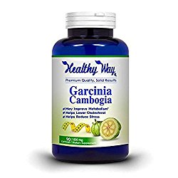 Pure Garcinia Cambogia Extract Pure 95% HCA, 1500mg 180 Capsules, Best Weight Loss Supplement, Natural Appetite Suppressant, Fat Burner, MADE IN THE USA