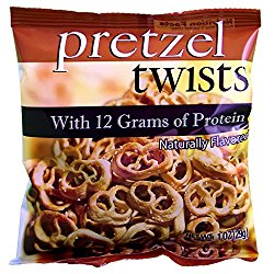 Weight Loss Systems – High Protein Pretzel Twists – Low Calorie – Low Fat – Low Carb – High Fiber Diet Snack – Kosher – 7 Bags