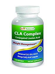Best Naturals CLA Complex 1000 mg 120 Softgels