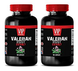 blood pressure natural supplements – VALERIAN ROOT EXTRACT 125MG – valerian natures answer – 2 Bottles (200 Capsules)