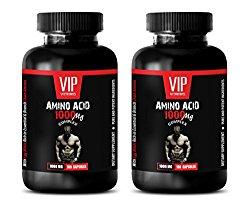 bodybuilding supplements for men – AMINO ACID 1000 MG COMPLEX – l-arginine bulk supplements – 2 Bottles 200 Capsules