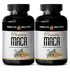 increase female libido – MACA PLUS 1300MG – maca extract capsules – 2 Bottles (120 Tablets)