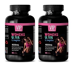 menopause supplements for women – WOMEN'S ULTRA COMPLEX 1600 MG – multivitamin for women with iron – 2 Bottles 180 Caplets