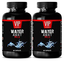 metabolism and energy booster – WATER AWAY PILLS 700MG – blood pressure instruments – 2 Bottles (120 Capsules)