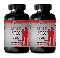 sex drive pills for men – MALE SEX PILLS – EXTRA STRENGTH FORMULA – MALE ENHANCEMENT – maca extract capsules – 2 Bottles (120 Tablets)