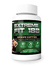 Extreme Fit 180- Green Coffee Metabolism Booster- Ultra Premium Weight Management Formula-Natural And Potent Weight Loss Pills For Men And Women – Burn Belly Fat – Powerful Antioxidant