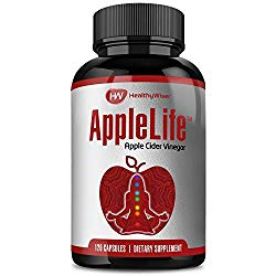 Apple Cider Vinegar Capsules 1000mg – 100% Natural Non-GMO ACV Diet Pills, Detox, Cleanser with Cayenne Pepper and Ginger for Extra Strength, Maintain Healthy Metabolism & Digestive Health – 120ct