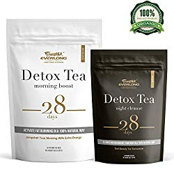 Detox Tea 28 Day Ultimate Teatox – Burn Fat and Boost Your Energy, Colon Cleanse and Flat Belly, Restore Your Body Natural Balance and Accelerate Weigh Loss – Easy Brewing and Taste Delicious