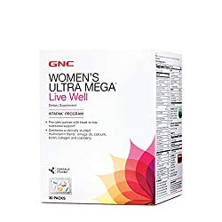 GNC Womens Ultra Mega Live Well Vitapak Program