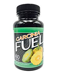 Fuel Garcinia- 60% HCA, Pure Garcinia Cambogia Extract – Extra Strength – Natural Weight Loss Supplements – Carb Blocker & Appetite Suppressant – All Natural Diet Pills for Women & Men – 60 Capsules