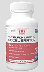 Hardbody's Black Label Accelerator-Designed for Toning and Slimming-A Great Diet Pill for Men and Women. The Most Effective Keto Diet Pills. (Free Shipping Today)