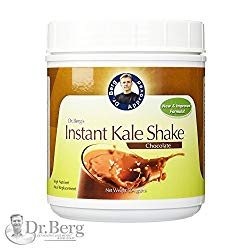 Instant Chocolate Kale Shake – High Quality Protein Powder – Weight Loss Shake – Meal Replacement By Dr. Berg (504 Grams)