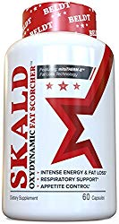 SKALD First Fat Burner Pills with Repiratory Support – Best Weight Loss Supplements for Men and Women – Works Fast for Cardio, Endurance, HIIT, etc – Top Thermogenic Energy Booster.