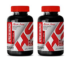 Fat Burner for Women Best Seller – African Mango 1200MG – African Mango Extract Pure – 2 Bottles (120 Capsules)
