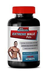 Male libido Enhancement Pills – Extreme Male Pills – Male Enhancement Formula – tribulus and maca – 1 Bottle 60 Tablets