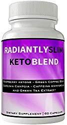 Radiantly Slim Keto Blend Pills Weight Loss Supplement | Radiantly Slim Para Bajar De Peso | Advanced Weigh Loss | Advanced Weightloss Fight Hunger Pangs with Keto Diet Pills
