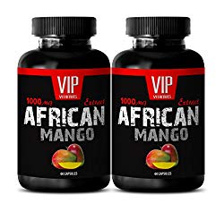 Weight loss vitamins – AFRICAN MANGO EXTRACT – African mango super fruit diet – 2 Bottles 120 Capsules