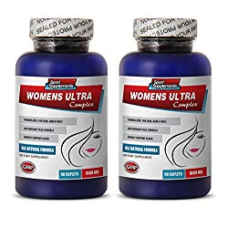 women vitamins with energy – WOMENS ULTRA COMPLEX – multivitamin for women with iron – 2 Bottles (180 Caplets)