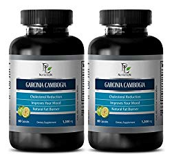 Garcinia cambogia extract pills – GARCINIA CAMBOGIA EXTRACT – Fat burner for weight loss – 2 Bottle 120 Capsules