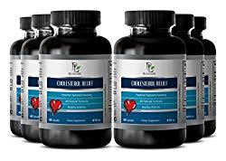 Liver regenerator – CHOLESTEROL RELIEF – Digestive aid – 6 Bottles 360 Capsules