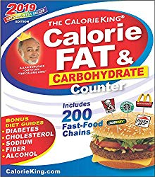 CalorieKing 2019 Calorie, Fat & Carbohydrate Counter