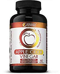 100% Organic Apple Cider Vinegar Capsules with The Mother – Natural Cleanser Supports Weight Loss, Healthy Blood Sugar & Cholesterol Levels, Boosts Energy & Metabolism, Raw Non-GMO, 700mg Pills
