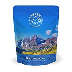 Food Grade Calcium Bentonite Clay – 2 LB Bentonite Montmorillonite Powder – Safe to Ingest for The Ultimate Internal Detox or Make a Clay Face Mask for The Best Natural Skin Healing Powder