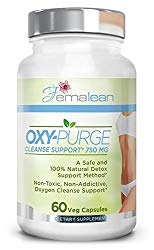 Oxy-Purge 60 Vcaps – Natural Magnesium Oxide | Gentle Laxative | Healthy Digestive Tract | Regularity Formula | Oxygen Based Colon Cleanse