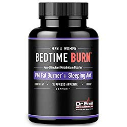 Dr. Emil – PM Fat Burner, Sleep Aid and Night Time Appetite Suppressant – Stimulant-Free Weight Loss Pills and Metabolism Booster for Men and Women (60 Vegan Diet Pills)