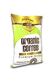 S.A. Wilson's Organic Enema Coffee Gold Roast Enema – Colonic Cleanse – Colon Hydrotherapy – Full body cleanse – Cafe organico para enemas – 100% USDA Certified Organic (1 lb)