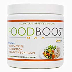 VH Nutrition | FoodBoost MAX | Appetite Stimulant for Men and Women | Natural Weight Gain Pills – 30 Day Supply – 120 Capsules
