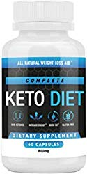 Keto Diet Pills – Weight Loss Fat Burner Supplement for Men and Women – Carb Blocker & Appetite Suppressant Formulated to Compliment a Ketogenic Diet – 60 Capsules
