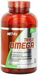 MET-Rx Triple Omega 3-6-9, 240 Count, Omega Fatty Acid Supplement