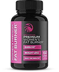 Nobi Nutrition Premium Vegan Fat Burner for Women – Weight Loss Supplement, Appetite Suppressant and Metabolism Booster – Thermogenic Diet Pills for Women – 60 Capsules