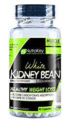 NutraKey White Kidney Bean Capsules, 90 Count