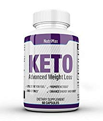 VitiMax Keto Pills – Weight Loss Fat Burner Supplement for Men and Women – Carb Blocker & Appetite Suppressant Formulated to Compliment a Ketogenic Diet – Keto Diet Pills Contains 60 Capsules