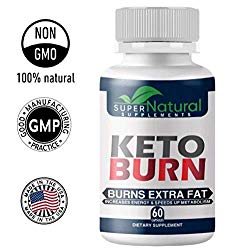 100% Natural ** Pure Keto Diet Pills – Keto Pills with BHB Made with Natural Ingredients, Boosts Energy and Metabolism – 60 Capsules