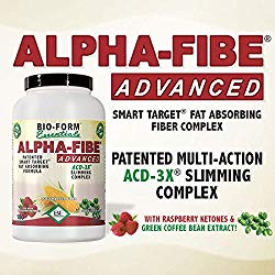 Alpha-Fibe Advanced ACD-3X Smart Weight Loss Slimming Complex for Men & Women (90 Fast-Acting Capsules) by Bio-Form Essentials