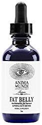 Anima Mundi Fat Belly Tonic – Liver + Gut Detox with Garcinia, Green Coffee + Turmeric (2oz / 60ml)