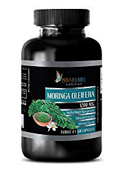 Brain and Memory Power Boost – Moringa OLEIFERA Extract 4:1 1200MG – Moringa Green Energy – 1 Bottle (60 Capsules)