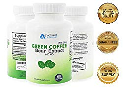 Green Coffee Bean Extract Weight Loss Supplement – Max Strength Natural GCA Antioxidant Cleanse for Weight Loss (w/GCA 800 mg)