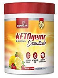 Ketogenic Essentials Exogenous Ketones Keto Powder Drink Mix – BHB Ketones – Zero Sugar, Zero Carbs, Zero Caffeine – Inch and Weight Loss – Raspberry Lemonade