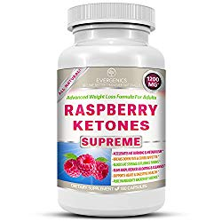Raspberry Ketones Supreme Weight Loss & Slimming Formula For Adults. 1200mg Per Day. 180 All-Natural Capsules With Premium, Pure & Organic Ingredients.