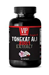 Sexual desire enhancer – TONGKAT ALI 200: 1 400 MG EXTRACT – Tongkat Ali Extract Powder – 1 Bottle 60 Capsules